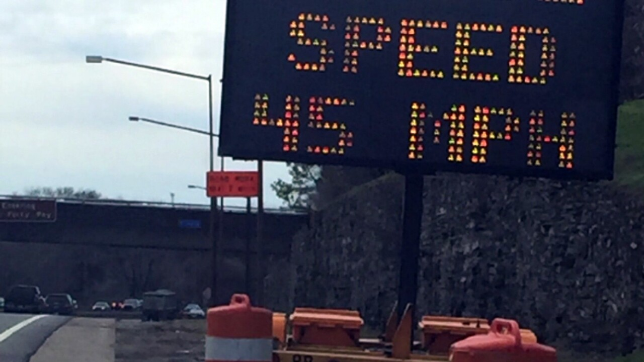 Police To Nashville Drivers: Slow Down In I-440 Work Zone