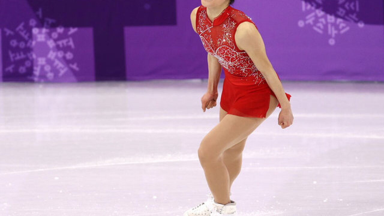 Figure skater Mirai Nagasu becomes first American woman to land triple axel in Olympics