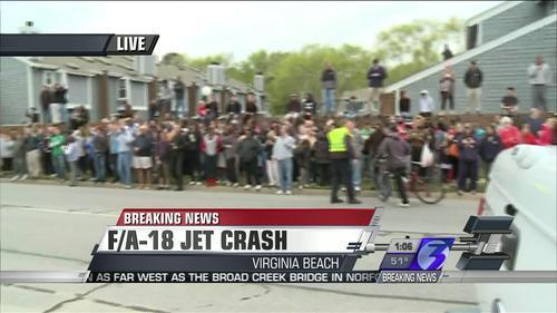 Photos: F/A-18 Navy Jet Crashes into Beach ApartmentComplex