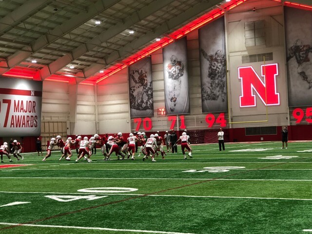 PHOTO GALLERY: Nebraska Spring Practice: April 3rd