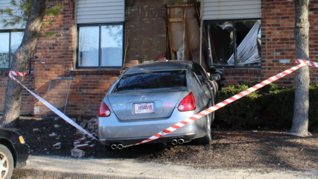 On March 8 a car crashed into Jermaica McNear's apartment.png