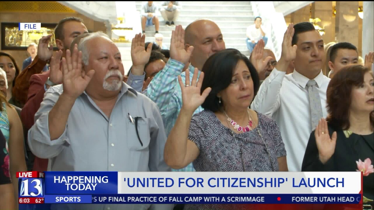 United for Citizenship initiative aims to naturalize 22,000 residents in Salt LakeCounty