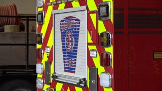 Hewitt fire engine