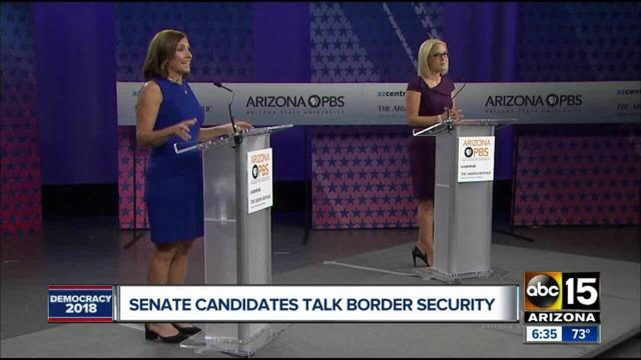 POLL: McSally with lead in AZ Senate race