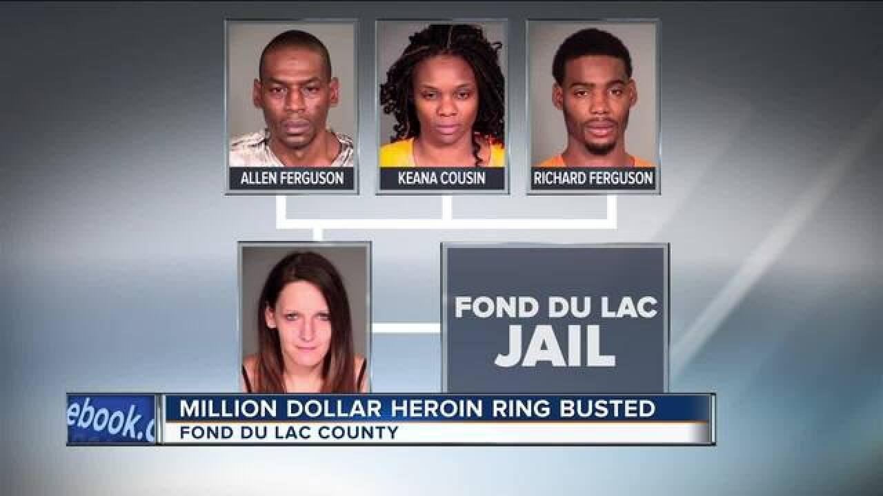 Major bust: 10 arrested in Fond du Lac heroin ring