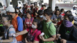 Philippines China Outbreak