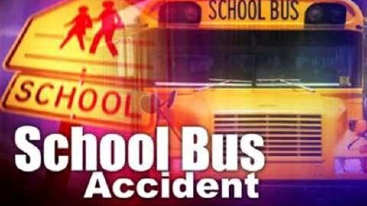 Killeen ISD School Bus involved in accident