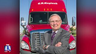 3 Questions with Bob Evans: Trucking industry legend and soon-to-be centenarian Gene England