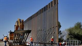 US Border Wall AP Photo Yuma Fence