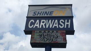 Shine On Car Wash open to keep vehicles clean since 1982