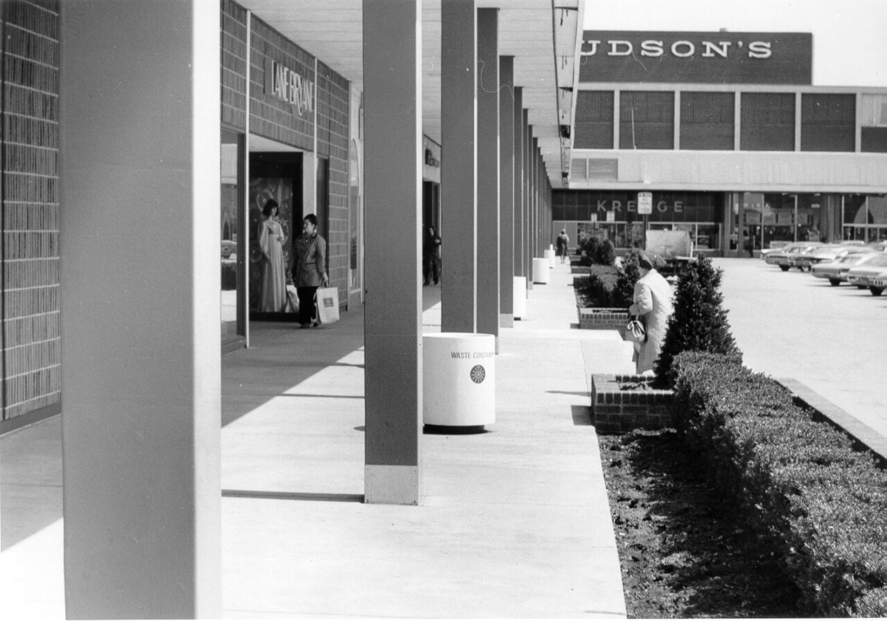 Historic photo of the old Northland Shopping Center. Courtesy: Contour Companies