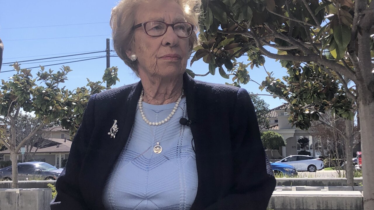 California high school plastered with swastikas after Holocaust survivor visit