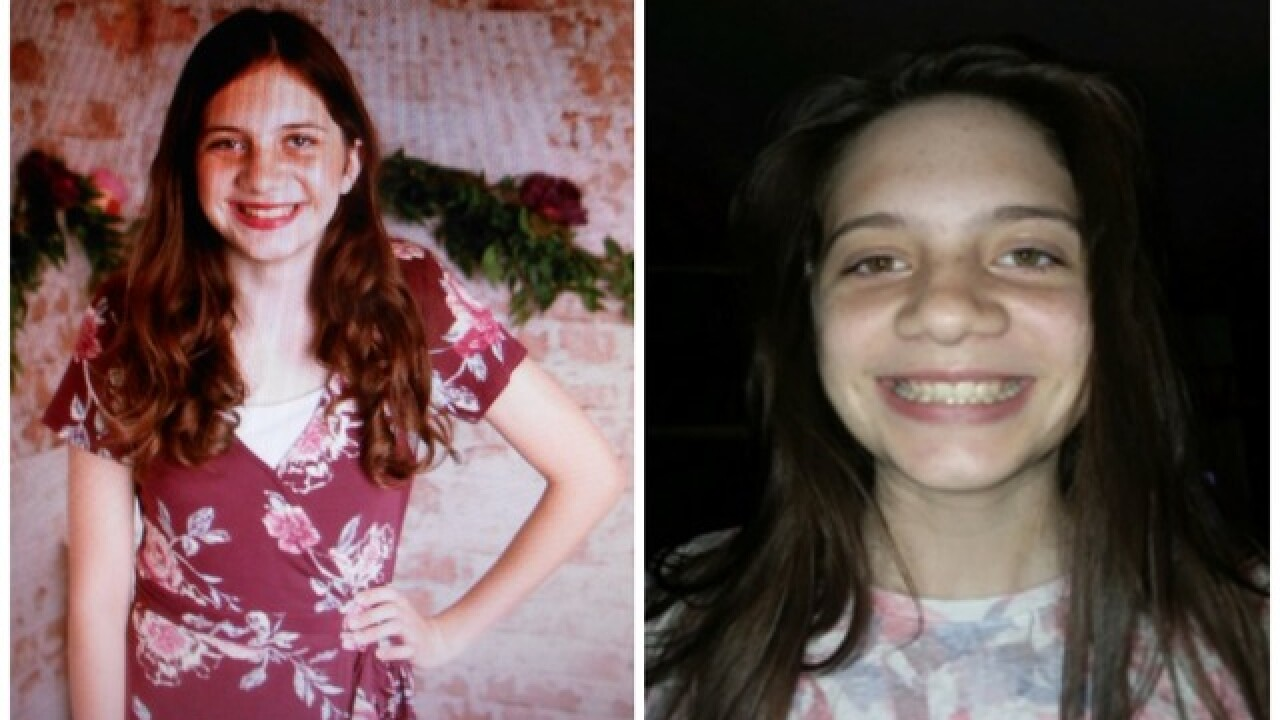 Amber Alert issued for 14-year-old Surprise girl