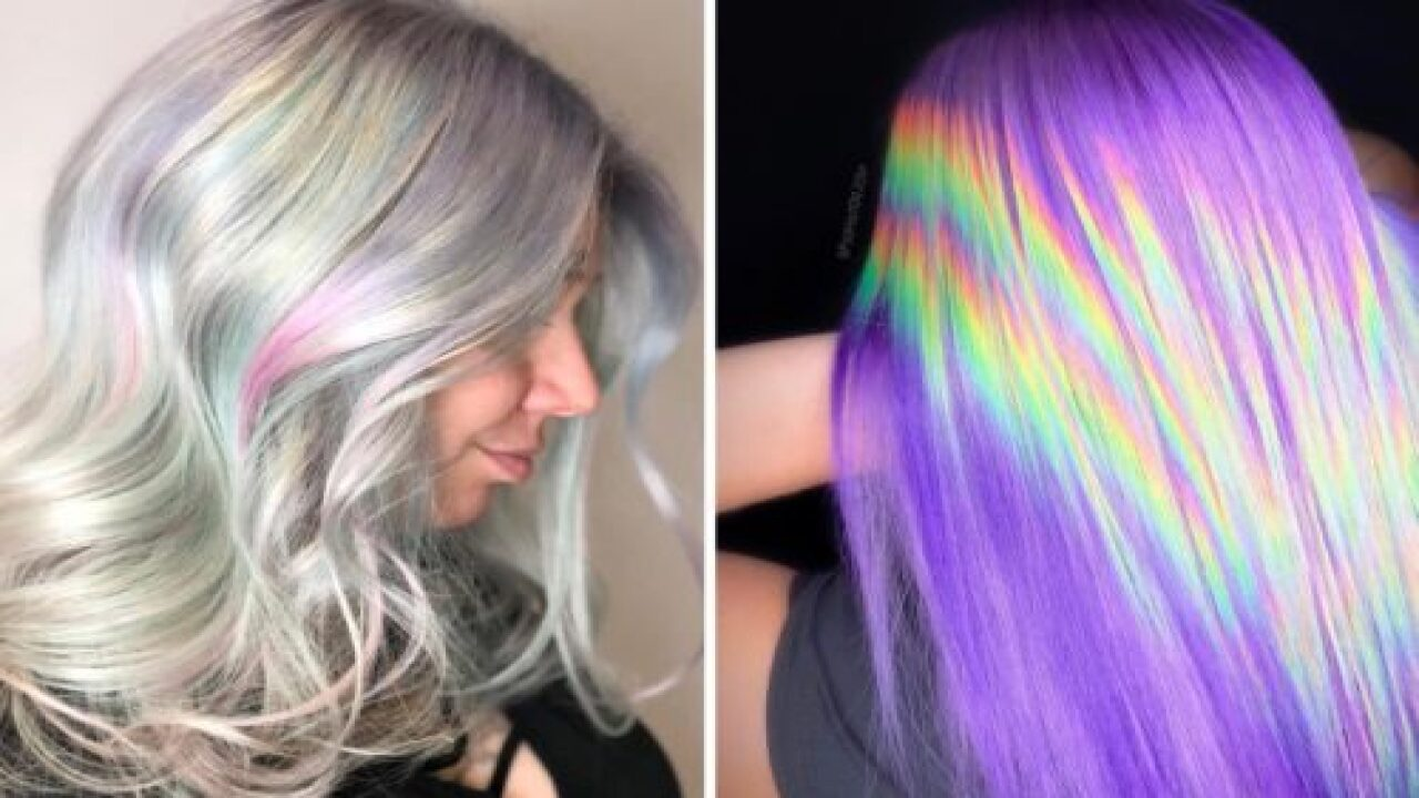 Holographic Hair Is A Cool New Color Trend And The Photos Will Make You Do A Double Take