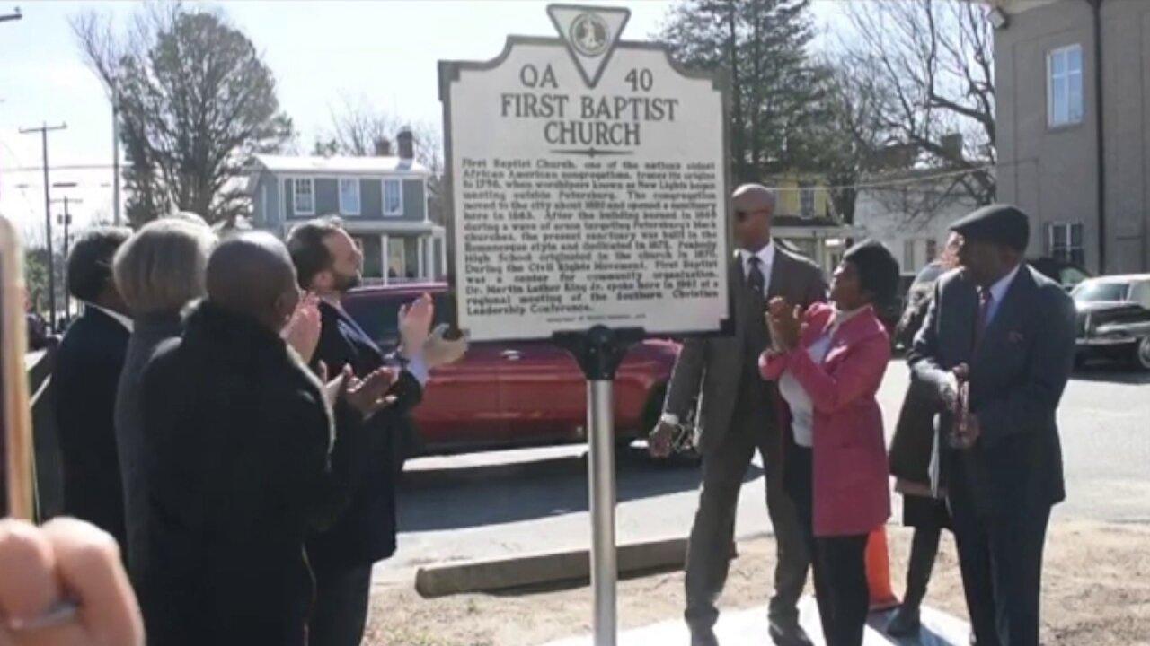 First Baptist Church historic marker.jpeg