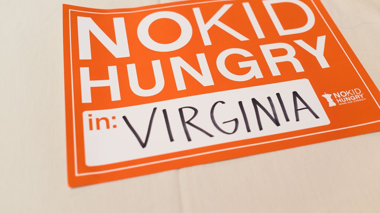 Suffolk Public Schools wins state award for ending childhood hunger