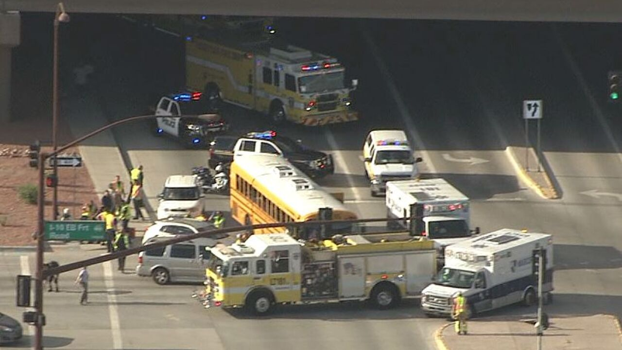 Goodyear bus crash