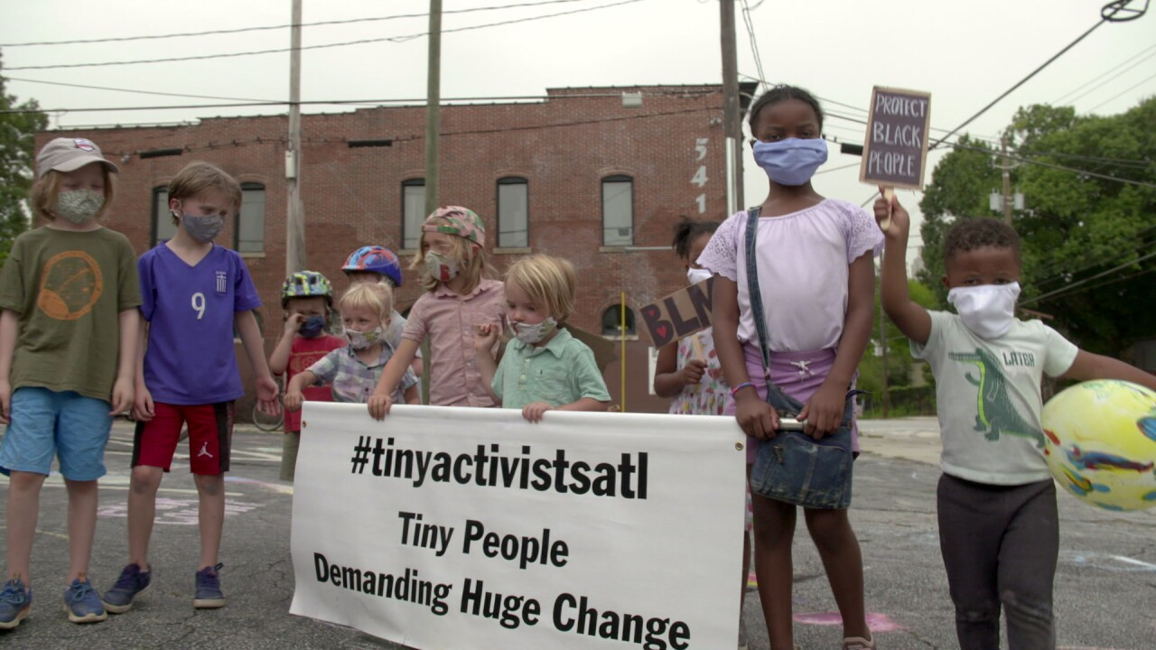 Children in Atlanta form activist group to demand racial equality