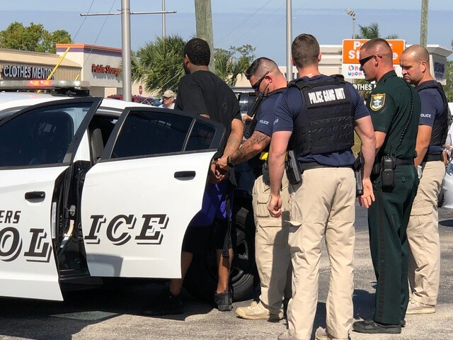 Photos: Person in custody in Fort Myers investigation