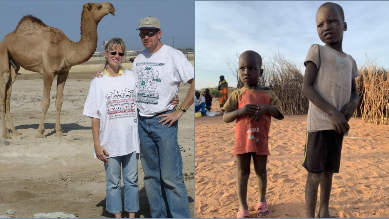 🙏How Hanover couple's 'vacations with a purpose' are changing lives