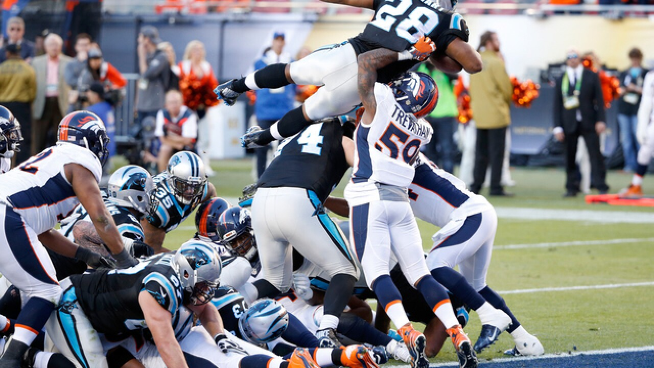 Big plays in Super Bowl 50
