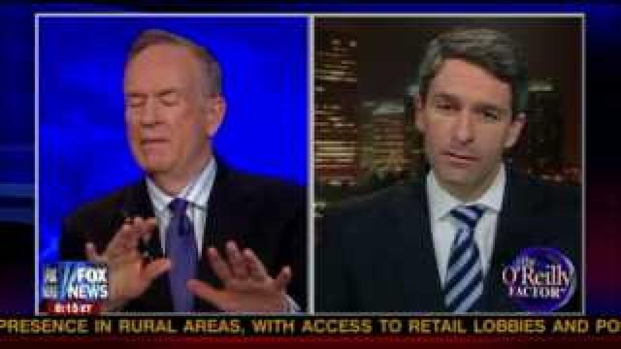 Bill O'Reilly and Ken Cuccinelli spar on TV