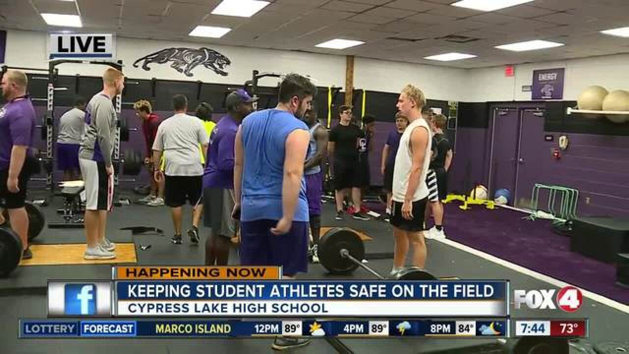 FHSAA requires heat stroke training for schools