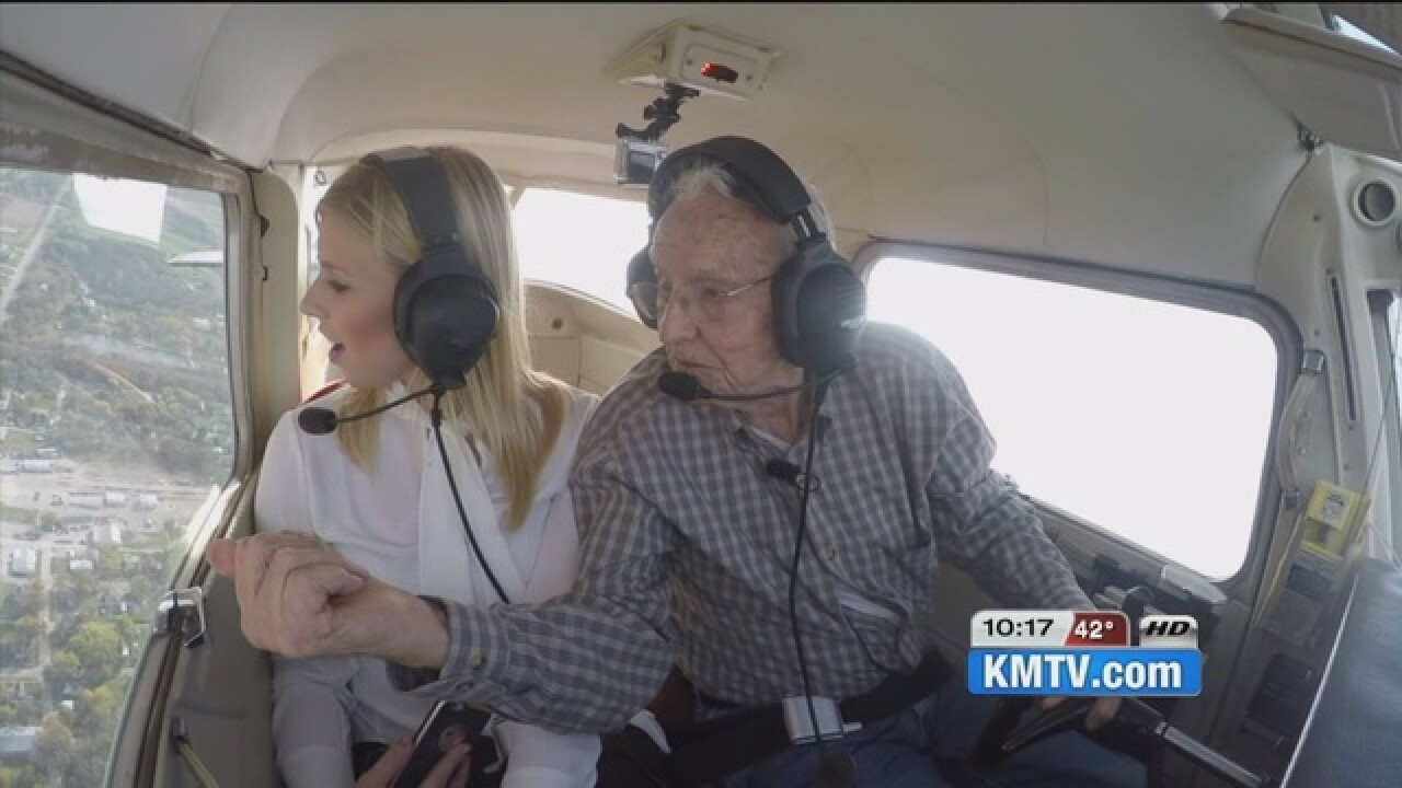 World's oldest active pilot turns 99 next month