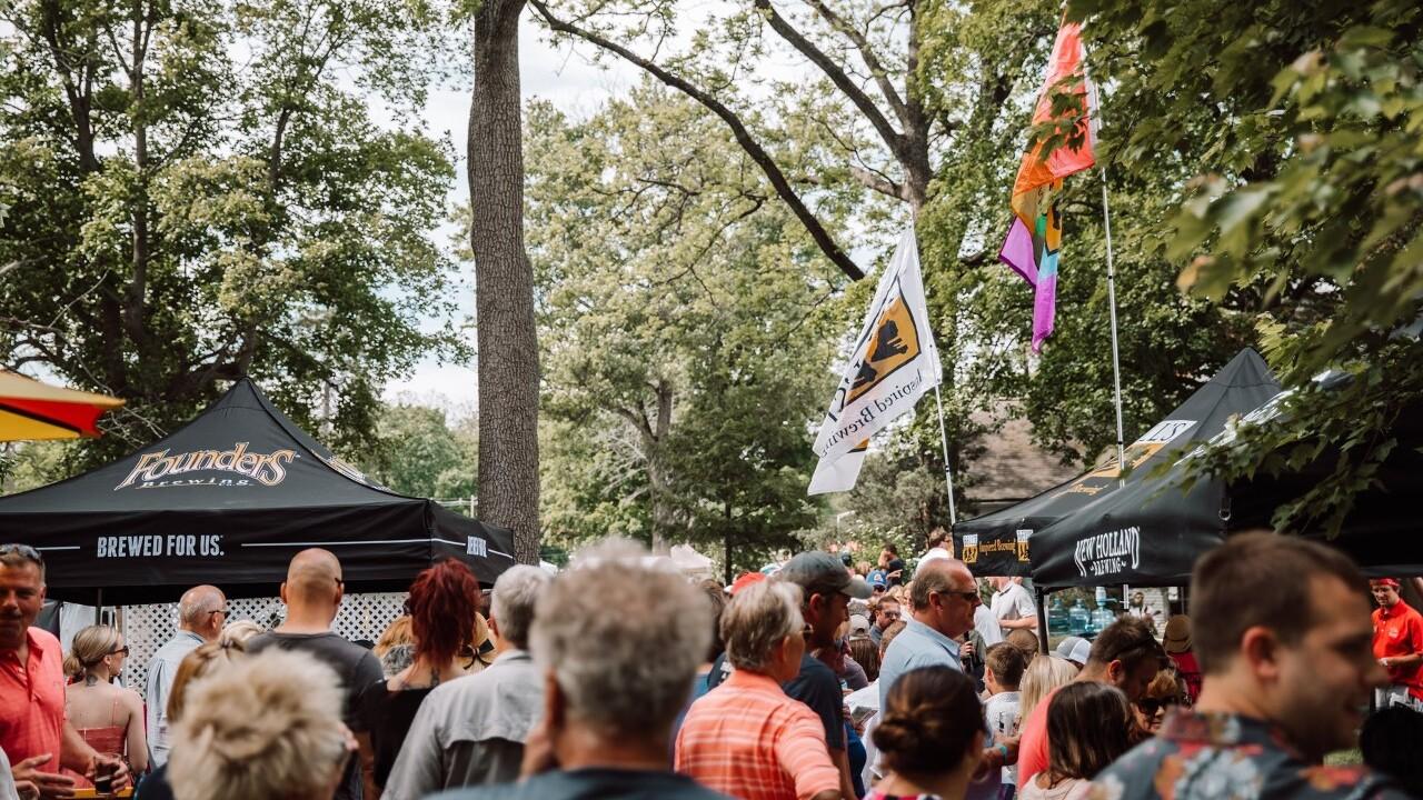 Ella Sharp's Art, Beer and Wine Festival