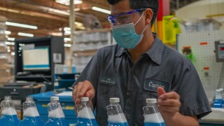 Camco Chemical bottling