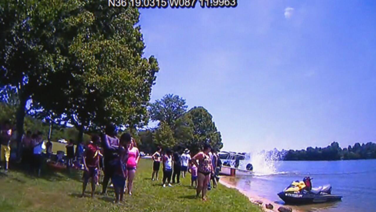 Rogue Jet Ski Plows Into Crowd On Cheatham Lake Injuring Three