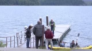 GNP Visitors Lake