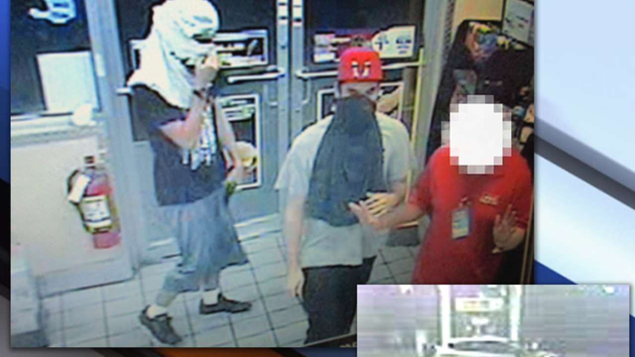 Deputies search for armed robbers in Tampa