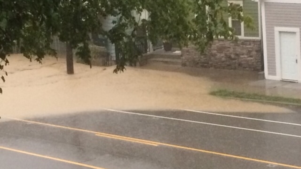 PHOTOS: Cars under water in Cincinnati flooding