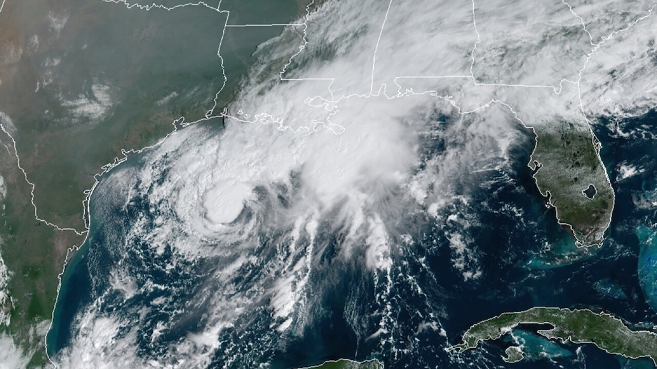 Tropical Storm Beta makes landfall on Texas Gulf Coast