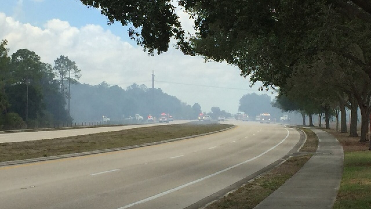 Cape brush fire shuts down Del Prado