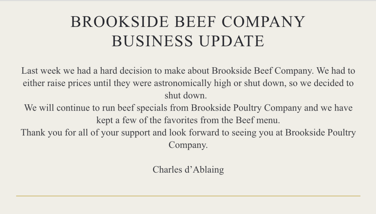 Brookside Poultry Company