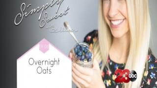 Overnight oats, on-the-go breakfast
