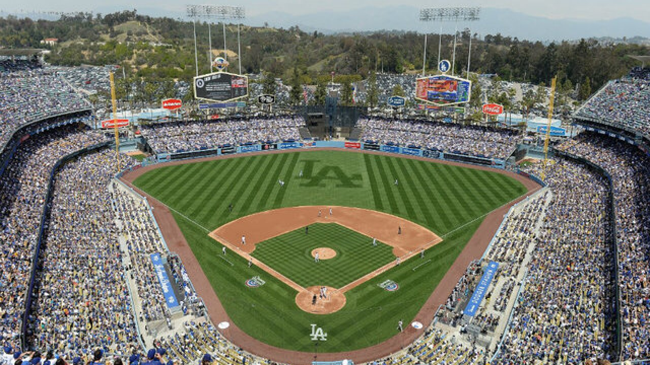 FOUL: Sewage leak stops game at Dodger Stadium