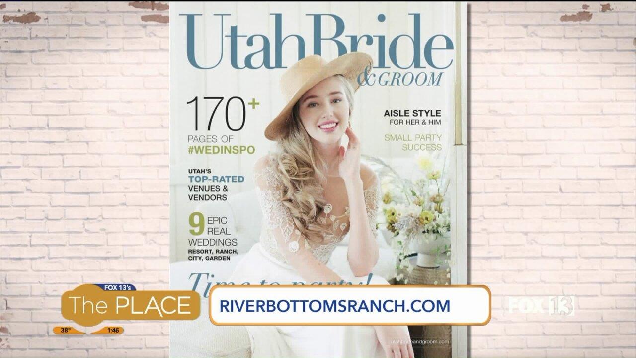See a wedding venue featured in 'Utah Bride &Groom'