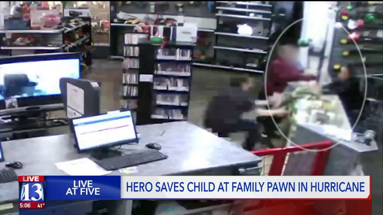 Southern Utah pawn shop manager catches baby falling fromcounter