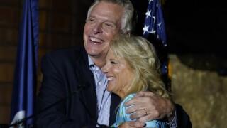Jill Biden travels to Virginia, New Jersey to help Democrats