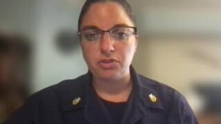 U.S. Coast Guard Petty Office Nicole Groll speaks to WPTV on July 16, 2021.jpg