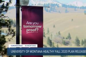 University of Montana releases 2020 fall plan