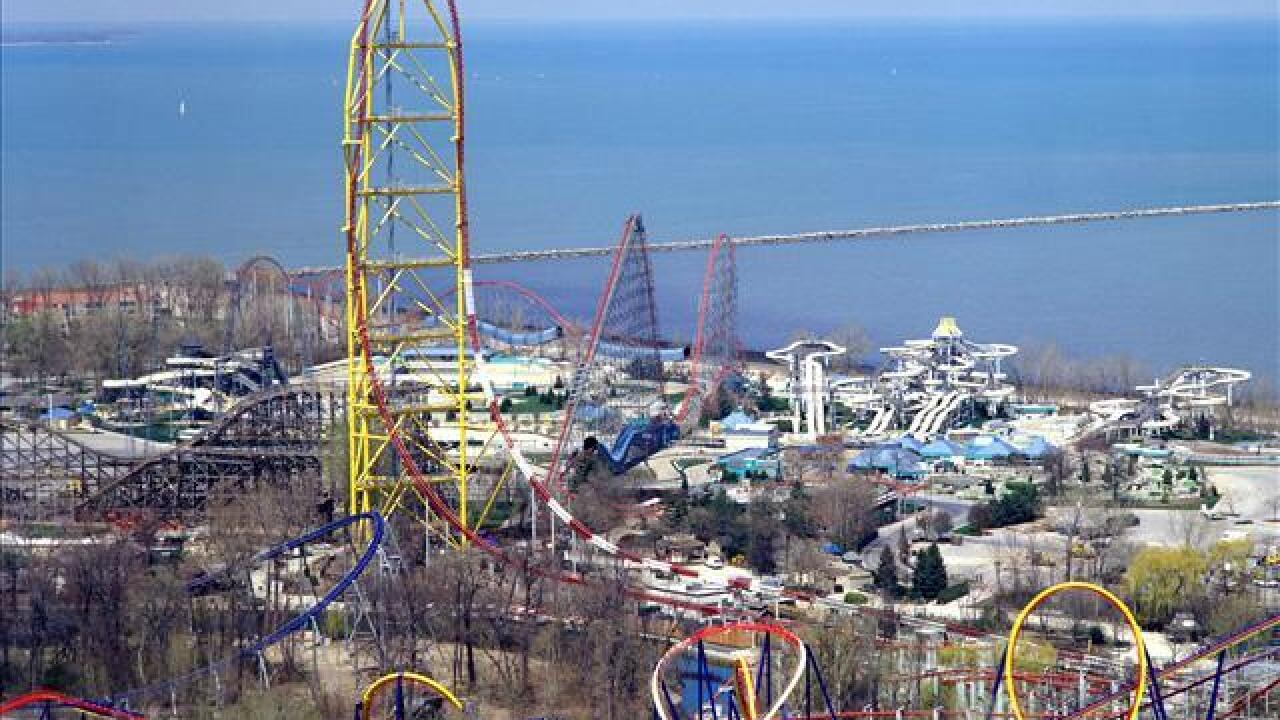 Power outage in Erie County affecting Cedar Point