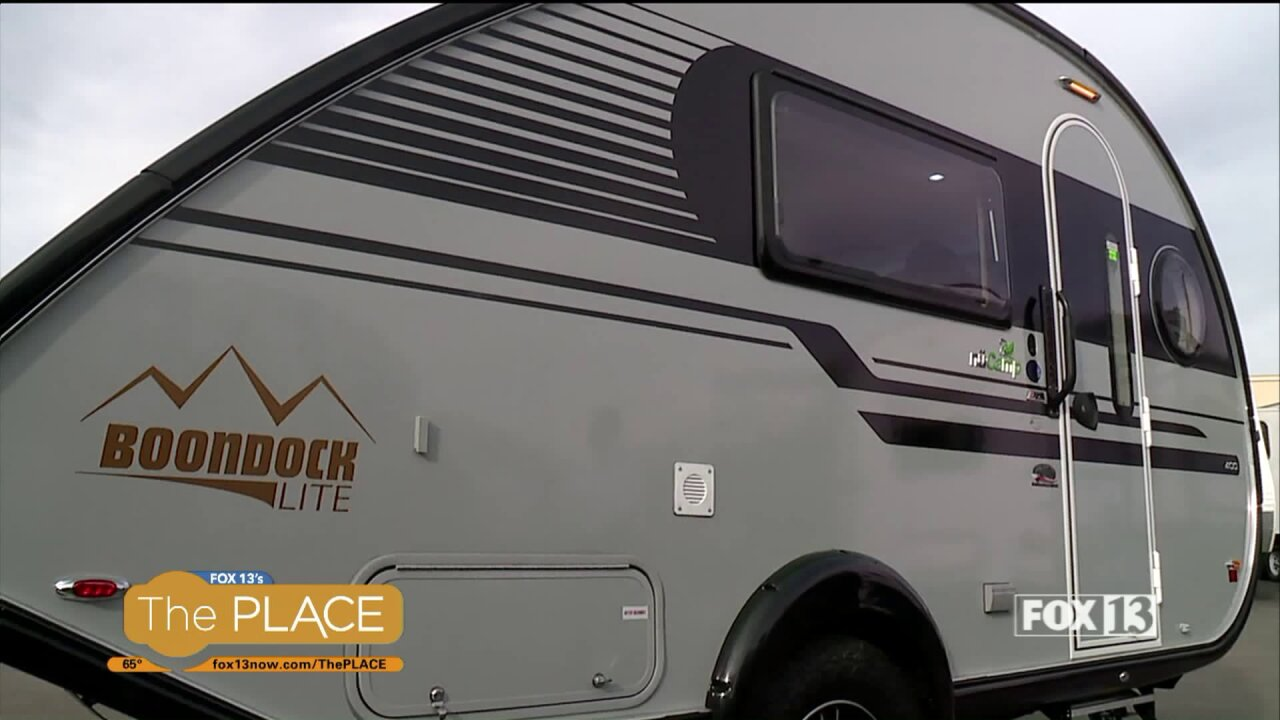 The brand-new Tab packs high-end luxury into a lightweight, efficient travel trailer