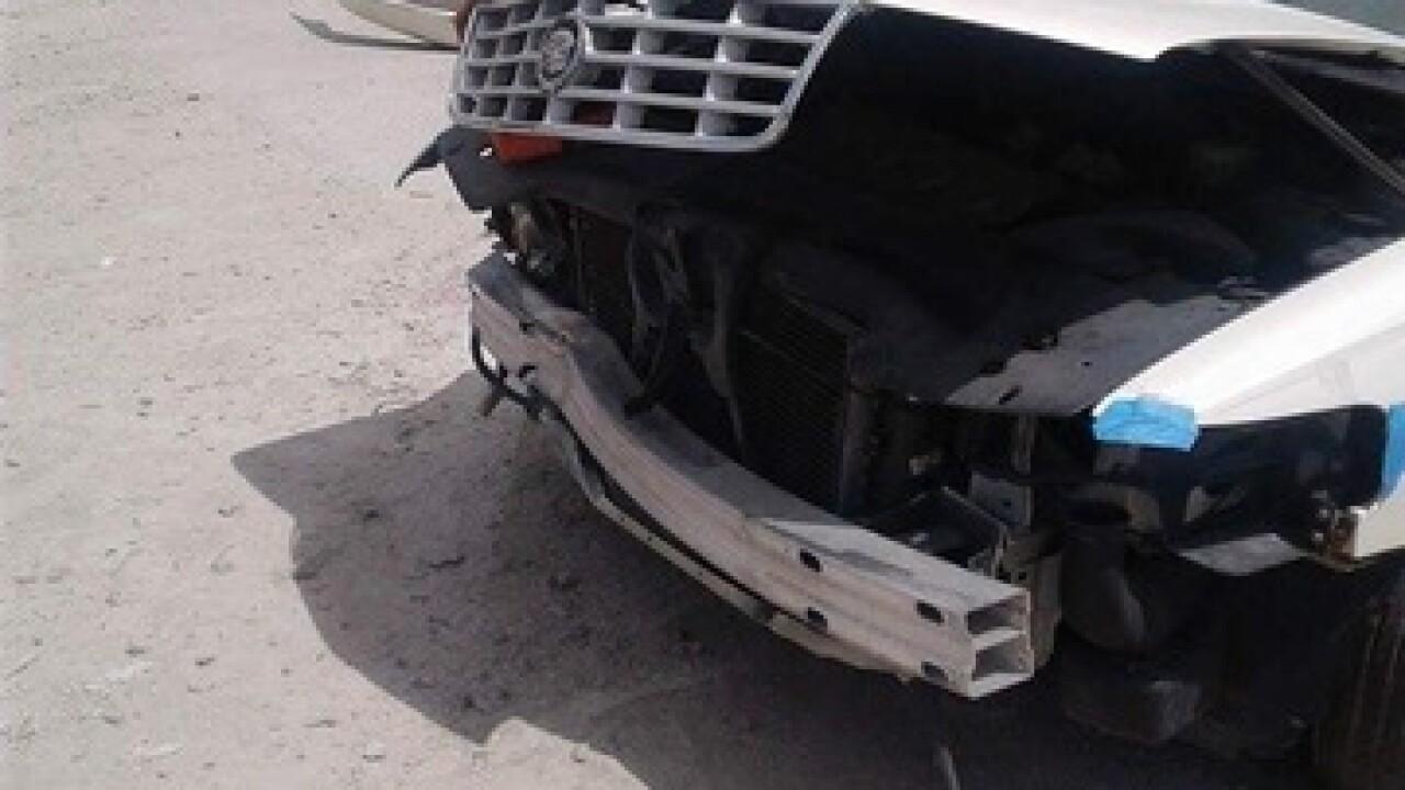 PHOTOS: Aaron Bailey's vehicle