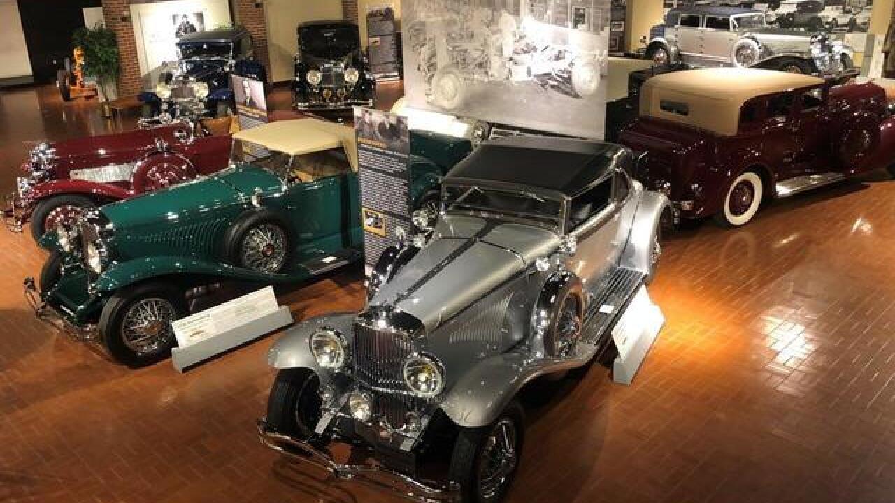 Most valuable car arrives at Gilmore Car Museum