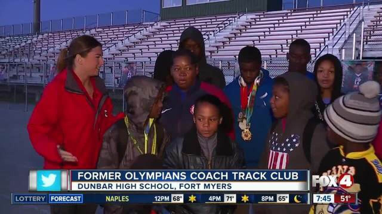 Olympia Track Club helps kids in Fort Myers