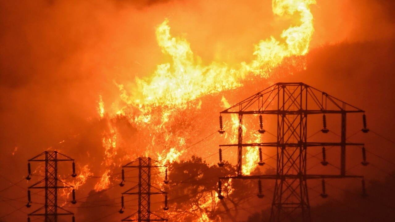 Utility company to plead guilty to 84 counts of manslaughter in connection with 2018 wildfires